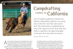 ASHS Bakersfield Campdraft July 2014